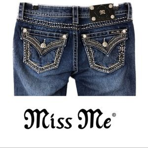 Miss me jean size 27 signature rise